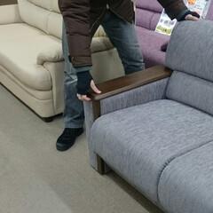 ひらた家具店/平田家具店/ソファー/ソファ/家具/注意点/... ソファーって肘掛けの部分が「木の板」にな…