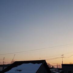 季節感/季節/夕陽/夕日/標茶/ひらた家具店/... 定休日恒例の標茶(しべちゃ)の夕日でござ…