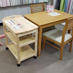 ダイニングテーブル/ダイニング/食卓セット/食卓テーブル/ワゴン/家具/... 例えば、二人用の食卓セットをお使いで「も…