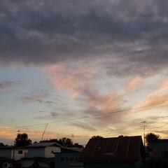 道東/北海道/標茶/夕焼け/雲/空/... 本日の標茶(しべちゃ)の夕焼け。 日が落…