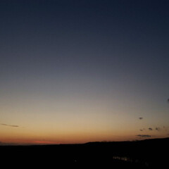 夕焼け/空/標茶/ひらた家具店/風景 配達帰りに一枚。  天気が良かったので夕…