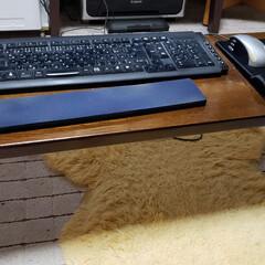 リメイク/DIY/テーブルの脚/ソファーの肘/テーブル/ひらた家具店 店長は自室のパソコンで色々と作業してまし…