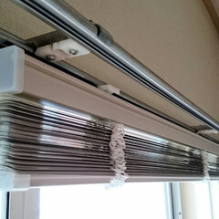 ひらた家具店/平田家具店/インテリア/ブラインド/カーテンレール/取り付け/... こちらはブラインドをカーテンレールに取り…