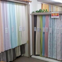 ひらた家具店/平田家具店/標茶/インテリア/カーテン/注文/... こちらは当店のカーテン売り場。  かかっ…