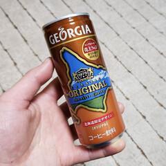 コカコーラ ジョージアオリジナル 缶 250g×30本入 /飲料(缶コーヒー、コーヒー飲料)を使ったクチコミ「今日の定休日の一服のお供はこちら。 (一…」