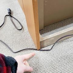 使い方/注意点/延長コード/電気コード/コード/家具/... 家具には電気コードがついているものがあり…