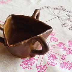 三角/カップ/食器/ひらた家具店 この奇抜な格好のカップは、店長が高校一年…