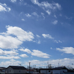 北海道/標茶/青空/雲/空/ひらた家具店/... 本日、ここ北海道の標茶(しべちゃ)では午…