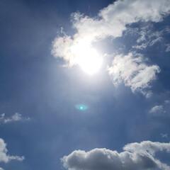 太陽/雲/空/標茶/道東/買い出し/... 定休日の本日は兄(社長)と一緒に必要なも…