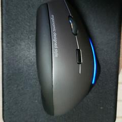 ひらた店長/店長/MA-ERG7/サンワサプライ/マウス/パソコン/... これはパソコンに使うマウス。 先日、新調…