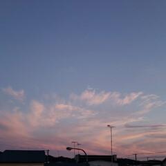風景/雲/夕焼け/空/平田家具店/ひらた家具店 先週土曜日の夕焼け写真。 たまには風景写…