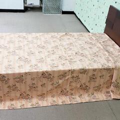 ベッドスプレッド/インテリア/マルチカバー/ベッド/家具/平田家具店/... これ、ベッドにマルチカバーをかけていると…