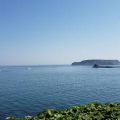 道東/北海道/景色/海/大黒島/厚岸町/... これは昨日、配達帰りの一枚。 道東の厚岸…