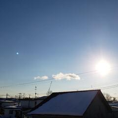 青空/空/定休日/標茶/ひらた家具店 本日の標茶(しべちゃ)の天気。 穏やかで…