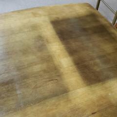 防止/塗装/日焼け/テーブル/家具/平田家具店/... これは使い込まれた食卓テーブルの天板。 …