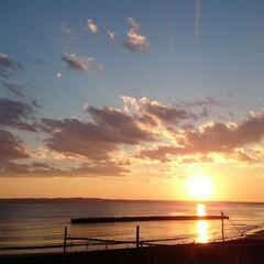 配達帰り/ひらた家具店/景色/LIMIAおでかけ部/おでかけ/風景/... これ、以前に撮影した夕日の写真。 となり…