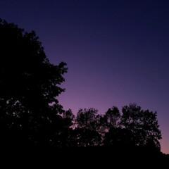 空/美しい/紫/北海道/道東/標茶/... そういえばこれは昨日(26日)の標茶(し…