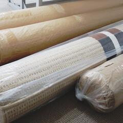 標茶/インテリア/家具店/入荷/じゅうたん/カーペット/... 写真は入荷した状態のカーペットでございま…
