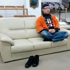 ひらた家具店/平田家具店/家具/ソファー/ソファ/ソファ選び/... 最近、写真投稿で「ソファ選びの時の座り方…
