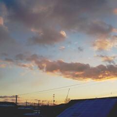 標茶/夕陽/夕日/空/ひらた家具店/冬 お正月休みの2日目の店長(弟)でございま…