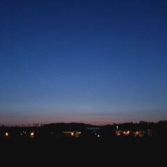 日没/夕焼け/ゴールデンウィーク/定休日/ひらた家具店/春のフォト投稿キャンペーン/... 夕焼けが綺麗だったので近所の河川敷までお…