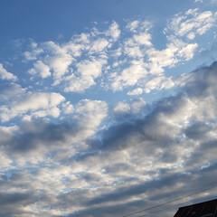 秋/雲/空模様/空/標茶町/標茶/... 現在の北海道、標茶(しべちゃ)の空模様。…