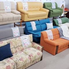 家具選び/ソファ/ソファー/家具/ひらた家具店 写真はひらた家具店のソファー売り場。  …