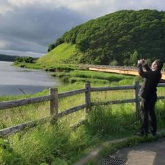 自然/写真/平田家具店/ひらた家具店/LIMIAおでかけ部/おでかけ/... 先日、おでかけした時の一枚。  湖の写真…