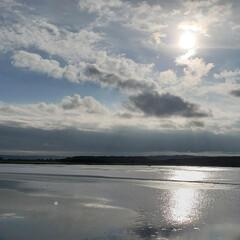 太陽/空/標茶/道東/北海道/自然/... これは昨日、おでかけした時の写真。 店長…