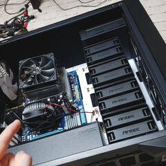 新調/ケース/自作PC/パソコン/趣味/ひらた店長/... パソコンの外側のケースを新調いたしまして…