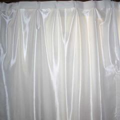 ひらた家具店/平田家具店/インテリア/カーテン/レースカーテン/ミラーカーテン/... これ、レースカーテンの裏側を写したものな…