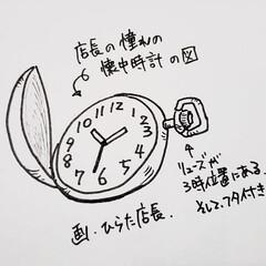 憧れの時計/憧れ/ひらた店長/懐中時計/時計/ひらた家具店/... 突然ですが店長は時計が結構好きでございま…
