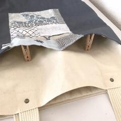 ミナペルホネン/バッグ/ハンドメイド/手作り/ハンドメイド作品/LIMIA手作りし隊/... ポケットが主役のバッグたち  ミナペルホ…(4枚目)
