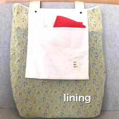 ミナペルホネン/バッグ/ハンドメイド/手作り/ハンドメイド作品/LIMIA手作りし隊/... ポケットが主役のバッグたち  ミナペルホ…(7枚目)