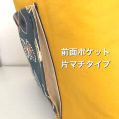 ミナペルホネン/バッグ/ハンドメイド/手作り/ハンドメイド作品/LIMIA手作りし隊/... ポケットが主役のバッグたち  ミナペルホ…(2枚目)