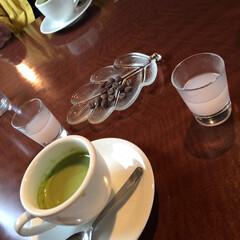 ストロベリーフラペチーノ/STARBUCKS/桜の甘酒/抹茶カプチーノ/ミルフィーユカツ/エビフライ/... 雑貨屋さんに行きながら、洋食屋さんでラン…(2枚目)