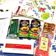 北海道のおすすめ品/リースのお礼/春のフォト投稿キャンペーン/フォロー大歓迎/ペット/ハンドメイド/... 素敵なプレゼント🎁とお手紙が届きました❤…