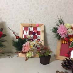 おうちランチ/友達/お正月/しめ縄リース/お正月飾り/ハンドメイド/... (5枚目)