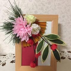 おうちランチ/友達/お正月/しめ縄リース/お正月飾り/ハンドメイド/... (4枚目)