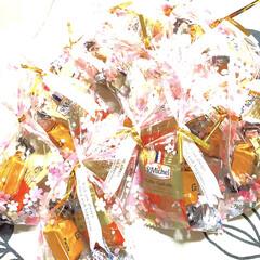 プレゼント/職場の仲間/St Michel ベビーガレット/HERSHEY'S  KISSES/Furuta生クリームチョコレート.../バレンタイン 今日は、❤️Valentine Day …