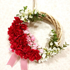 母の日カーネーション/母の日/春のフォト投稿キャンペーン/ありがとう平成/GW/LIMIA手作りし隊/... また、🎀母の日カーネーションのリース作り…