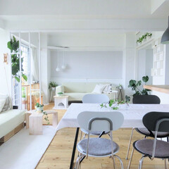 グリーンのある暮らし/住まい/暮らし/インテリア/リビング グリーンのあるお部屋が好きで 所々グリー…(1枚目)