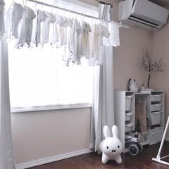 カラーボックス/赤ちゃんのいる暮らし/赤ちゃんのいる生活/部屋干し/インテリア/住まい/...