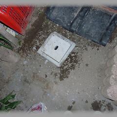 給水排水/洗い場DIY/桝/埋設/塩ビ管 全てOKなので埋め戻して完成です。 今回…