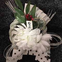 DIY/ハンドメイド/ダイソー/セリア/お正月準備/しめ縄/... 今年はお正月飾りを手作りしました(ᵔᴥᵔ)