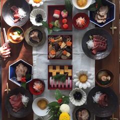 元旦/お正月/おせち料理/御節/幸せ♡私のごはんフォトコンテスト/あけおめ/... 御節もどき。 我が家はいつも新年の2日に…