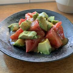 レシピ/料理/幸せ♡わたしのごはんフォトコンテスト/フォロー大歓迎/LIMIAごはんクラブ/おうちごはんクラブ/... 美味しいトマトをおすそ分けしてもらったの…