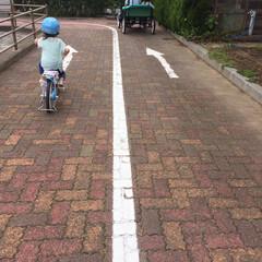 お出かけ/公園/4歳/補助輪無しデビュー/自転車練習/夏休み/... 平成最後の夏の思い出。 次女がついに補助…