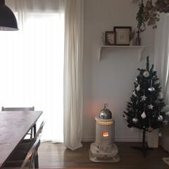 リビング/コロナストーブ/コロナ/クリスマス/クリスマスツリー/雑貨/... 昨日からの冷え込みにおうちコロナストーブ…