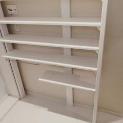 脱衣所DIY/収納/DIY/ラブリコ/初心者/棚/... 狭い脱衣所に合わせて、ラブリコを 使用し…